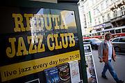 Der Reduta Jazz Club in der Narodni Strasse.
