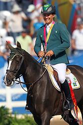 Bernardo Alves durante Prova de hipismo nos Jogos Pan-Americanos de Guadalajara, na qual foi medalha de prata. FOTO: Jefferson Bernardes/Preview.com