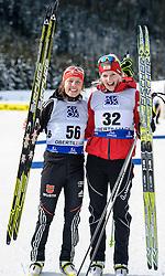 30.01.2013, Biathlonzentrum, Obertilliach AUT, IBU, Jugend und Junioren Weltmeisterschaften, Einzel Junioren Damen, im Bild v.l.n.r. Laura Dahlmeier (GER) und Lisa Hauser (AUT) // f.l.t.r.  Laura Dahlmeier from Germany and Lisa Hauser from Austria during the Individual Juniors Women of IBU Youth  and Juniors World Championships at Biathloncenter, Obertilliach, Austria on 2013/01/30. EXPA Pictures © 2013, PhotoCredit: EXPA/ Michael Gruber