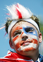 Photo: Chris Ratcliffe.<br /> USA v Czech Republic. Group E, FIFA World Cup 2006. 12/06/2006.<br /> USA Fans before the game.