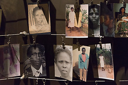 Photos Of People Killed In 1994 Genocide, Kigali Genocide Museum