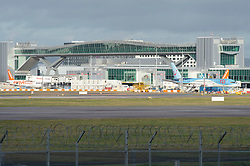 © Licensed to London News Pictures. 20/12/2018. Gatwick, UK. Planes grounded, Drone has closed Gatwick airport with all flights in and out cancelled while police hunt for drone pilot deliberately targeting airport.Photo credit: Grant Falvey/LNP