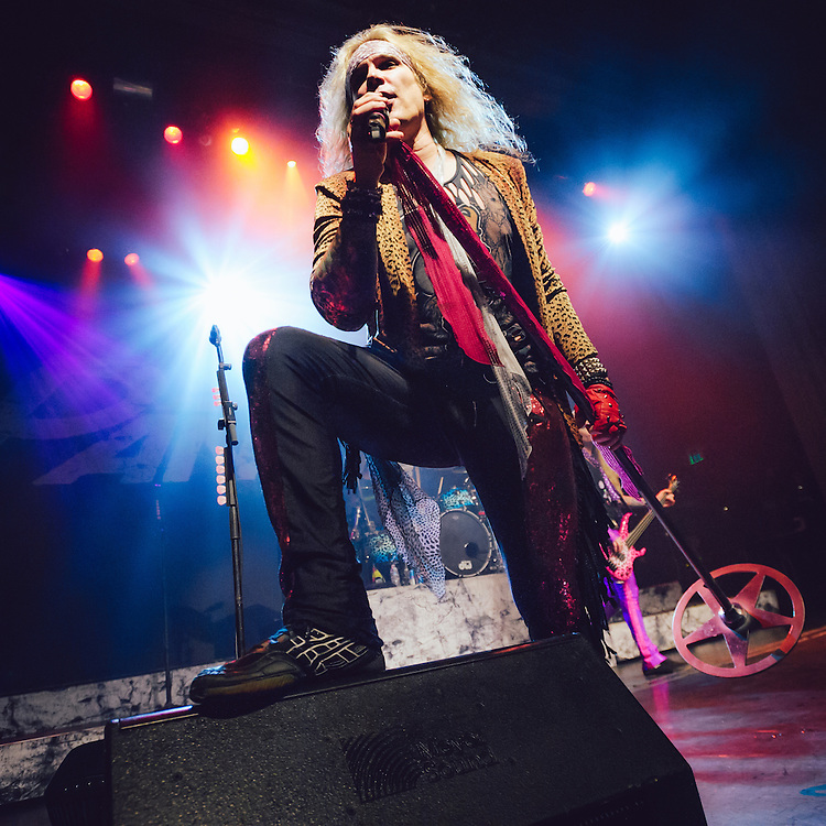 Michael Starr/Steel Panther performing live at the Regency Ballroom concert venue in San Francisco, CA on January 16, 2016