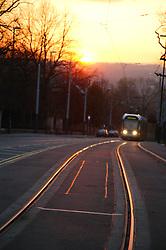 Nottingham tram system opened 2004,