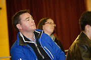 24/02/2018 Eric Cunningham at a public meeting to discuss the future plans for a School of Music for Galway city, organised by Maoin Cheoil na Gaillimhe at Presentation NS. Photo:Andrew Downes, XPOSURE .