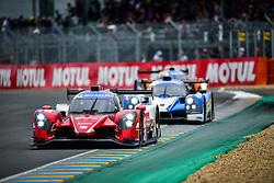 June 14, 2018 - Le Mans, FRANCE - 19 ULTIMATE (FRA) NORMA M30 NISSAN FRANÇOIS HERIAU (FRA) JEAN-BAPTISTE LAHAYE  (Credit Image: © Panoramic via ZUMA Press)