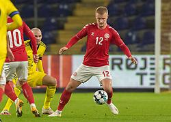 Kasper Dolberg (Danmark) under venskabskampen mellem Danmark og Sverige den 11. november 2020 på Brøndby Stadion (Foto: Claus Birch).