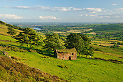 An abandoned farmhouse at Roach End, Staffordshire Moorlands, Peak District