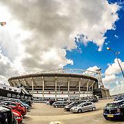 NLD/Amsterdam/20150530 - Stadion de Aena aan het wachten op de Toppers concert 2015 Crazy Summer edition