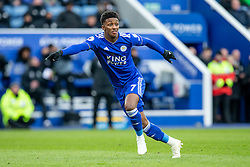 February 3, 2019 - Leicester, England, United Kingdom - Demarai Gray of Leicester City asking for the ball during the Premier League match between Leicester City and Manchester United at the King Power Stadium, Leicester on Sunday 3rd February 2019. (Credit Image: © Mi News/NurPhoto via ZUMA Press)
