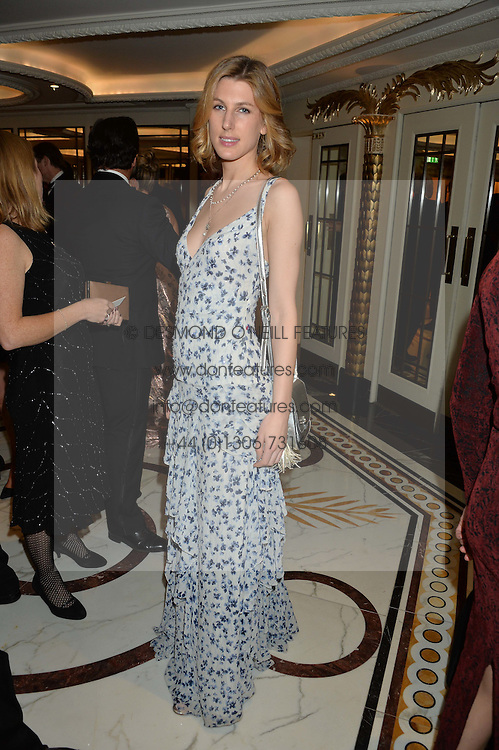 SUSANNA WARREN at the 26th Cartier Racing Awards held at The Dorchester, Park Lane, London on 8th November 2016.