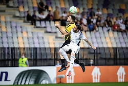 Mitja Lotric of NS Mura  during football match between NS Mura and Vitesse (NED) in 1st round of UEFA Europa Conference League 2021/22, on 16 of September, 2021 in Ljudski Vrt, Maribor, Slovenia. Photo by Blaž Weindorfer / Sportida