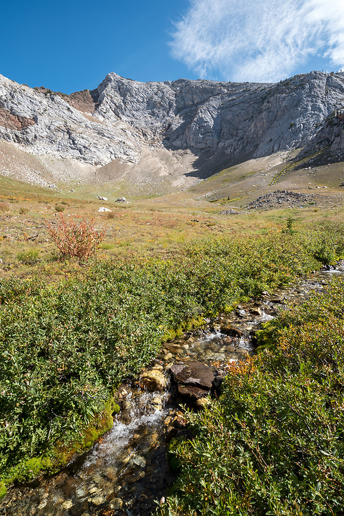 Headwaters of the South Fork of the Wallowa River in Oregon's Wallowa Mountains.