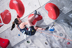 SEO Chaehyun of KOREA during Finals IFSC World Cup Competition in sport climbing Kranj 2019, on September 29, 2019 in Arena Zlato polje, Kranj, Slovenia. Photo by Peter Podobnik / Sportida