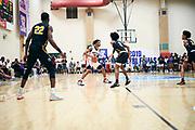 NORTH AUGUSTA, SC. July 10, 2019. Makyi Boyce 2020 #13 of Woodz Elite 17U at Nike Peach Jam in North Augusta, SC. <br /> NOTE TO USER: Mandatory Copyright Notice: Photo by Jon Lopez / Nike