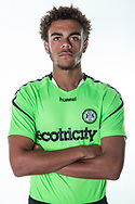 Forest Green Rovers Jordan Simpson during the 2018/19 official team photocall for Forest Green Rovers at the New Lawn, Forest Green, United Kingdom on 30 July 2018. Picture by Shane Healey.