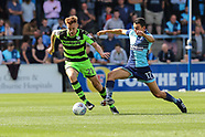 Wycombe Wanderers v Forest Green Rovers 020917