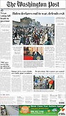 September 01, 2021 - USA: Front-page: Today's Newspapers In United States
