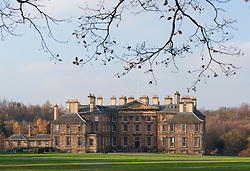 View of Dalkeith Palace stately home, in Dalkeith Country Park in Midlothian, Scotland , UK