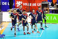 EQUIPE DE LYON - 14.03.2015 - Lyon / Paris - 24e journee Ligue A<br /> Photo : Jean Paul Thomas / Icon Sport