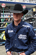 15 October 2010-New York, NY- Austin Meier at the The Professional Bull Riders' (PBR) Compettion in the Built Ford Tough Road to Las Vegas Series presented by Cooper Tires and held in New York's Times Square on October 15, 2010 in New York City. ..The Times Square competition is a special prelude event to the 2010 PBR World Finals. The 2010 PBR Ford Tough World Finals will take place October 20-24 in Las Vegas, where the coveted PBR Championship Buckle and a $1 Million bonus are up for grabs. Photo Credit: Terrence Jennings