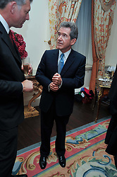 LORD BROWNE at a party to celebrate the publication of Gosling - Classic Design for Contemporary Interiors by Tim Gosling held at William Kent House, The Ritz Hotel, London on 1st October 2009.