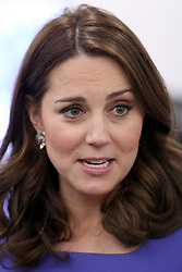 The Duchess of Cambridge attends the first Royal Foundation Forum in central London.