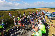 Illustration, supporters, public, fans, Scenery, Pic de Nore during the 105th Tour de France 2018, Stage 15, Millau - Carcassonne (181,5 km) on July 22th, 2018 - Photo Kei Tsuji / BettiniPhoto / ProSportsImages / DPPI