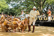 Gregory Moore and the dancers of the Dreamland Follies performing at the Jazz Age Lawn Party.