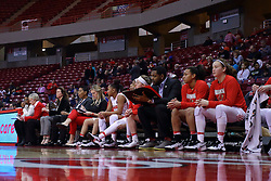 29 January 2017:  during an College Missouri Valley Conference Women's Basketball game between Illinois State University Redbirds the Salukis of Southern Illinois at Redbird Arena in Normal Illinois.