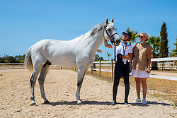 Verberckmoes Maartje, BEL, Guidam's Willow The Second<br /> FEI Jumping European Championships for Young Riders, Juniors, Children - Vilamoura 2021<br /> © Hippo Foto - Leanjo De Koster<br /> 18/07/2021