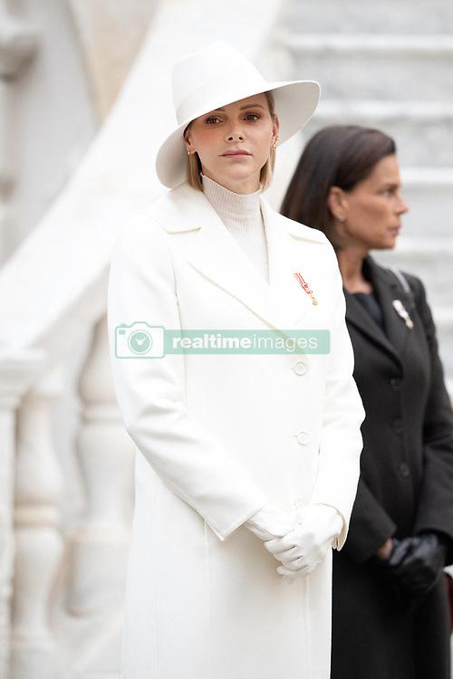 Princess Charlene of Monaco attends the Monaco National Day Celebrations on November 19, 2019 in Monte-Carlo, Monaco. Photo by David Niviere/ABACAPRESS.COM