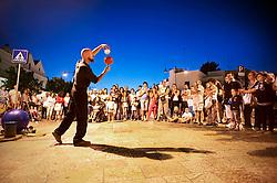 Alberobello - artista di strada