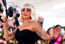 Lady Gaga attending the Metropolitan Museum of Art Costume Institute Benefit Gala 2019 in New York, USA.