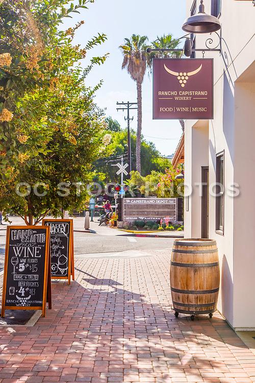 Rancho Capistrano Winery On Verdugo Street in San Juan Capistrano