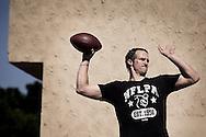 New Orleans Saints Quarterback Drew Brees during training in San Diego, CA.