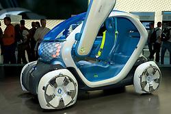 Renault Twizy ZE concept electric car at Frankfurt Motor Show 2009