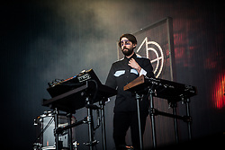 June 17, 2018 - Landgraaf, Limburg, Netherlands - Mikey Goldsworthy of Years & Years performing live at Pinkpop Festival 2018 in Landgraaf, Netherlands, on 17 June 2018. (Credit Image: © Roberto Finizio/NurPhoto via ZUMA Press)