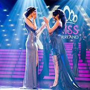 NLD/Hilversum/20171009 - Finale Miss Nederland 2017, Nicky Opheij en Farida Soebhan
