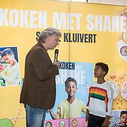 NLD/Muiden/20180325 - Boekpresentatie koken met Shane Kluivert, vormgever en Shane