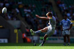during the second half of the match - Photo mandatory by-line: Rogan Thomson/JMP - Tel: Mobile: 07966 386802 07/09/2013 - SPORT - RUGBY UNION - Twickenham Stadium - London Irish v Saracens - Aviva Premiership - London Double Header.