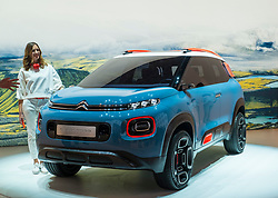 Citroen C-Aircross compact SUV concept at 87th Geneva International Motor Show in Geneva Switzerland 2017