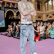 Urban Wear Fashion Show at The Great British Tattoo Show, at Alexandra Palace, on 25 May 2019, London, UK.