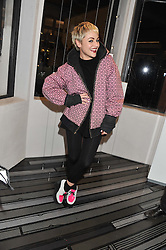 JAIME WINSTONE at a party to celebrate the launch of a limited edition shoe The Chambord in celebration of Nicholas Kirkwood's partnership with Chambord black raspberry liqueur, held at the Nicholas Kirkwood Boutique, 5 Mount Street, London on 12th December 2012.
