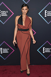 Shay Mitchell attends the People's Choice Awards 2018 at Barker Hangar on November 11, 2018 in Santa Monica, CA, USA. Photo by Lionel Hahn/ABACAPRESS.COM
