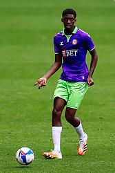 Tyreeq Bakinson of Bristol City in action - Rogan/JMP - 21/08/2020 - Ashton Gate Stadium - Bristol, England - Bristol City v Cheltenham Town - Pre Season Friendly.