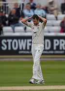 Graham Onions (Durham County Cricket Club)  during the LV County Championship Div 1 match between Durham County Cricket Club and Hampshire County Cricket Club at the Emirates Durham ICG Ground, Chester-le-Street, United Kingdom on 2 September 2015. Photo by George Ledger.