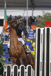 Robert Olivier (FRA) - Le Galant<br /> World Championship Young Horses Lanaken 2008<br /> Photo Copyright Hippo Foto