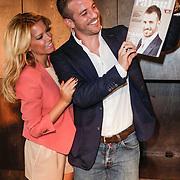 NLD/Amsterdam/20120503 - Lancering Rafael Magazine, Rafael van der Vaart en partner Sylvie van der Vaart - Meis