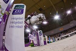 Al Thani Ali bin Khaled (QAT) - Cantaro 32<br /> Rolex FEI World Cup™ Jumping Final 2012<br /> 'S Hertogenbosch 2012<br /> © Dirk Caremans
